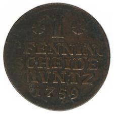 Braunschweig Hannover 3 Pfennige 1759 A47827