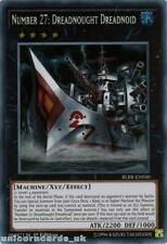 BLRR-EN030 Number 27: Dreadnought Dreadnoid Secret Rare 1st Edition Mint YuGiOh