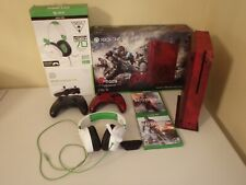 XBOX ONE GEARS OF WAR 4 WITH EXTRAS IN EXCELLENT CONDITION WITH BOXES GREAT DEAL