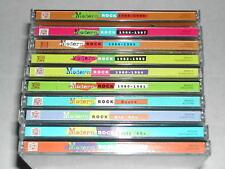 Time Life Music Modern Rock 20-Disc 10-Set Rare OOP CD Lot Rare OOP 70s 80s Pop