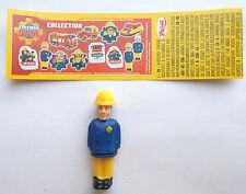 "Zaini  "" Fireman Sam "" - Figur Feuerwehrmann Elvis Cridlington - mit BPZ 2017"