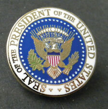 PRESIDENTIAL PRESIDENT SEAL UNITED STATES USA PATRIOTIC LAPEL PIN BADGE 1 INCH