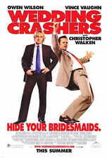 """WEDDING CRASHERS Movie Poster [Licensed-NEW-USA] 27x40"""" Theater Size"""