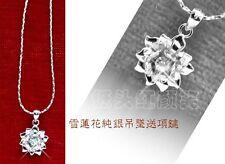 Korean Drama Fashion Pure Lotus Flower Necklace Perfect Birthday Chrismas GIft