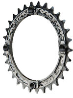 Race Face Single Narrow Wide 1x MTB Chainring - 104mm BCD 30t Black