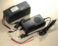 36V/37V 12Ah Li-Ion/Lithium Battery w/ BMS + 3.0A Charger for ebike/Bike/Bicycle