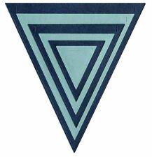 Lifestyle Crafts QuicKutz Nesting Die Set NESTING PENNANTS Flag ~ 6 Dies -DC0357