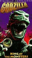 Godzilla, King of the Monsters (VHS, 1998)