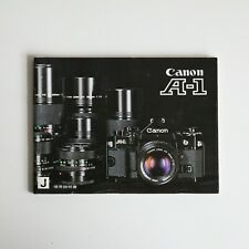 Canon A-1 Instruction Manual (Japanese)