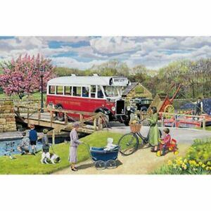 Old Swing Bridge 1000 Piece Jigsaw Puzzle  h1