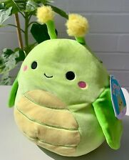 """BNWT Pilar the Grasshoper Squishmallow Soft Toy 8"""" Insect Bug USA"""