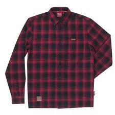 Indian Motorcycle Red Plaid Shirt