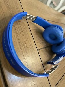 beats solo hd headphones Blue For Parts Wired