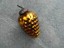 1 boule de noël raisin jaune ancien églomisé mercurisé de MEISENTHAL