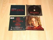 DAVID BISBAL BULERIA EDICION ESPECIAL DE LUJO + LIBRETO MUSIC CD EN BUEN ESTADO