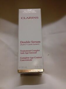 Clarins Double Serum Complete Age Control Concentrate 1oz