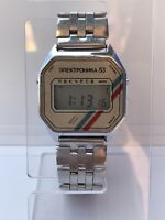 Vintage Quartz Elektronika 53 Electronika 53 Wrist Watch Электроника 53 USSR