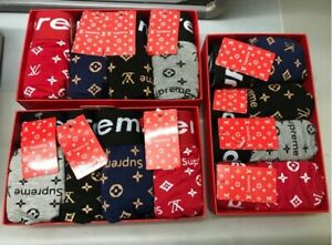 Supreme Boxers Mens - 4pcs (DISCOUNTED) (Breathable & Casual underpants)