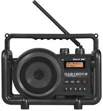 PerfectPro DAB+ Box 2 DAB+ Baustellenradio AUX, Bluetooth®, DAB+, UKW spritzwass