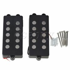 2pcs 5 String Bass Guitar Pickup Humbucker For M Bass Replacement