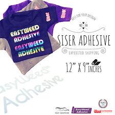 "SISER EasyWeed ADHESIVE Heat Transfer Vinyl for Tshirt, 12"" x 9"""