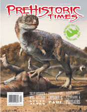 WALKING WITH DINOSAURS 3D James Gurney DINO STAMPS New! PREHISTORIC TIMES #108