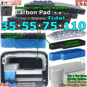 For SeaChem Tidal Power Filter 35,55,75,110 Matrix Carbon Zeolite Compatible Pad