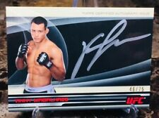 2013 Topps UFC/Knockout ~ VINNY MAGALHAES (#46/75)~(FULL-CONTACT!) ON CARD AUTO!