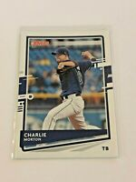 2020 Donruss Baseball Base Card - Charlie Morton - Tampa Bay Rays