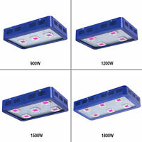 KING 900/1200/1500/1800W LED Grow Light Full Spectrum for Indoor Medical Plants