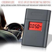 Digital Alcohol Breath Tester Analyzer Breathalyzer Detector Test Portable New S