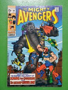 Avengers #69 1963 1st App Grandmaster Squadron Sinister Jack Kirby Marvel VG/FN