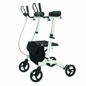 BEYOUR WALKER Upright Rollator Euro Style Stand Up Walking Aid