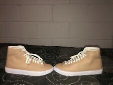 debb302d3031 Nike Blazer Mid Boys Youth Leather Athletic Shoes Size 6.5Y Womens 8 Beige  White