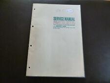 Original Service Manual Schaltplan Akai GXC-36