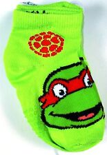 NEW 3 PAIRS BOYS TEENAGE NINJA TURTLES NON SKID SOCKS SIZE 3-5T NS102
