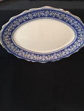 Antique~ Blue ~ Plater~John Maddock Sons England Jewel