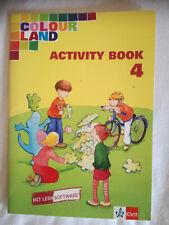 Colour Land Activity Book 4 mit Lernsoftware*Klett* 2004*neuwertig