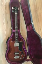 More details for gibson eb3 bass guitar 1964 cherry red authentic original vintage