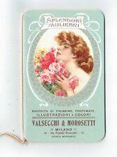 CALENDARIETTO - VALSECCHI & MOROSETTI  - MILANO - LIBERTY - 1910 SPLENDORI