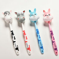 Kids Baby Toddler Cute Cow Rabbit Soft Toothbrush Oral Dental Care 1PC WG