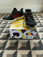 ADIDAS Ultra Boost 4.0 Mens Running Shoes Black Red Cushioned F35231