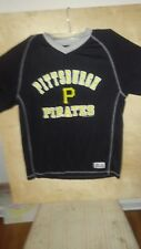 Pittsburgh Pirates Black M 38-40 Shirt True Fan
