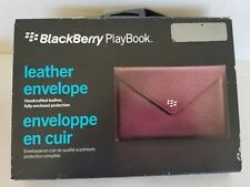 Blackberry Playbook Leather Envelope Case purple