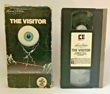 THE VISITOR VHS 70'S SCI-FI HORROR JOHN HUSTON MEL FERRER SHELLEY WINTERS