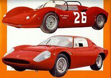 "1966 - ABARTH Fiat ""1000 S.P."" / ""OT 1300"" - Italian sales brochure, prospekte"