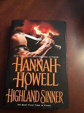 Hannah Howell * Highland Sinner * HB/DJ * 2008 Hardcover