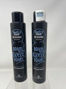 2 Four Reasons Black Edition Foamy Blow Booster  Volume Boost and Airiness  6.8