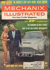 Mechanix Illustrated December 1965 James Bond 007 Austin Martin w/ML 090517DBE
