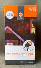 Halloween LED Projector Light Projects Swirling Red Yellow Lights Target